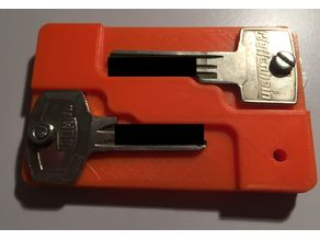 Credit card key holder