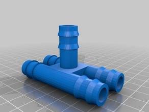 gardening hose pipe 12mm spliter 1 to 4