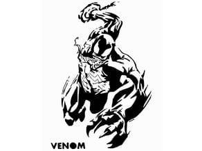 Venom stencil 2