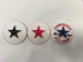 Converse All-Star Logo 3D