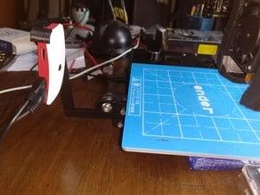 Ender 2 mount for official Raspberry Pi Zero case