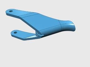 Throttle lever, Polaris SLTX 1050 PWC