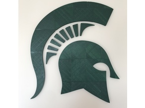 Spartan Head Logo Wall Decoration (GIANT)