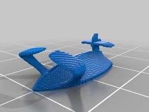 (3D Slash) flyingFish_body