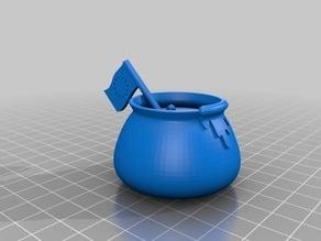 European One Pot Pasta (based on medieval cauldron)