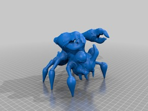 123D Creature: Thundercrab