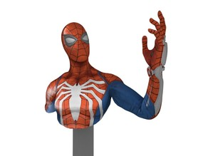 SPIDERMAN PS4 BUST