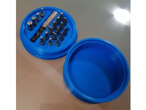 Screwdriver Bits Case