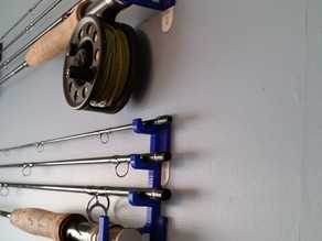 Fly Fishing Rod Holder Bracket