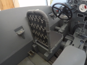 SdKfz 250 driver seat