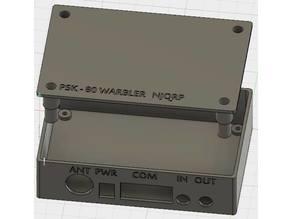 NJQRP PSK-80 Warbler Case