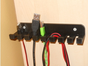 Sturdy Cable Holder