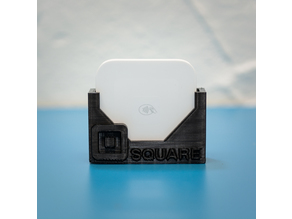 Wall mount or desktop Square Card Reader holder