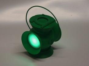 Green Lantern LED Lights Remix