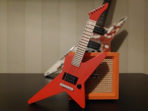 Miniature Guitar (Star)