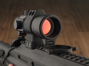 Slim profile scope mounts