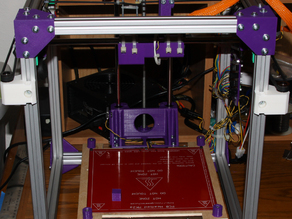 Cube Style cartesian 3D printer