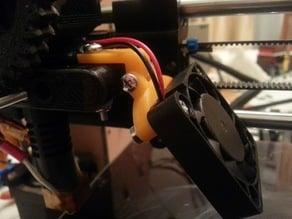 Adjustable 40mm Fan Mount (Prusa i3)