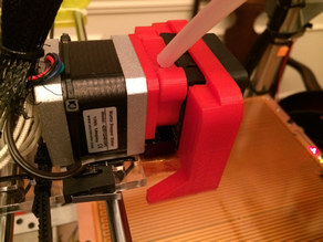 Core XY MK8 style extruder cooling fan duct