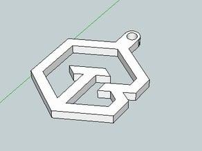 Toolbox keychain pendant