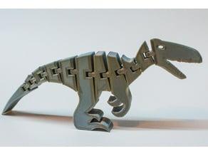 Flexi-Velociraptor