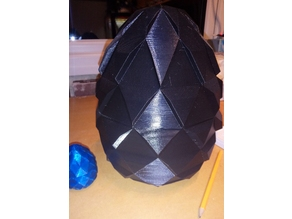 Enlarged Two Piece Game of Thrones style Egg