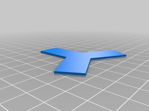 Separator Template 15mm 100hex object