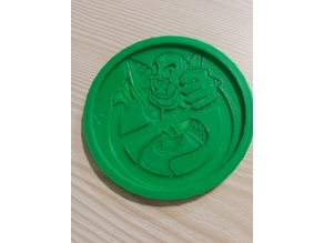 Ghost Nappa Coaster with team four star holder