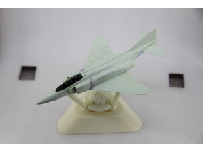 Aircraft model painting stand