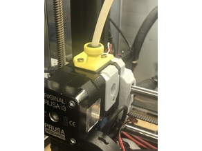 MK3 Bear Extruder Clip (for Palette 2, includes space for Rubber Grommet)