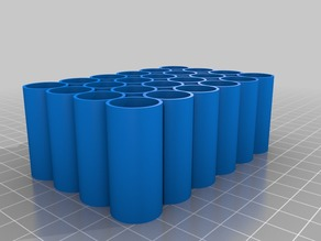AA Battery Container