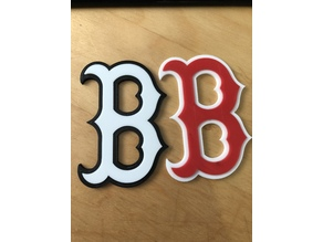 Red Sox two part logo