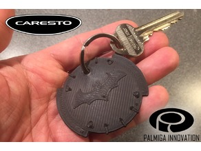 Palmiga Caresto Arkham Car steering wheel cap - Keychain token