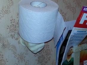 Holder toilet paper