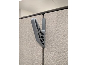 Cubicle hook (Steelcase Remix)