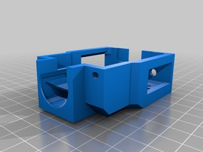 XYZ da Vinci 1.0 Pro E3D V6 Drop-In Cartridge Mount - Enhanced Cooling