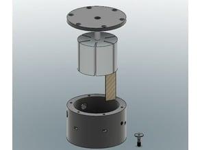 Rotary vane pump (video in discription)