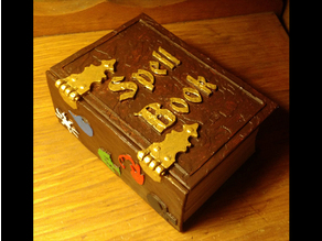 Spell Book MTG Deck Box
