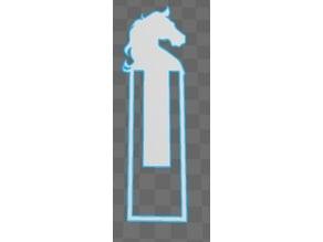 Horse Head Bookmark