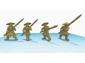 Heroscape Proxies: Ashigaru Yari