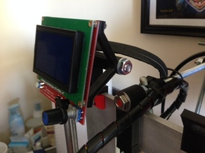 RepRepDiscount Full Graphic LCD Mount for Prusa i3