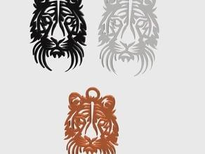 Simple tiger 2D