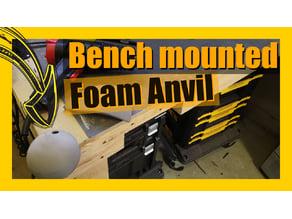 Bench Mounted Foam Anvil