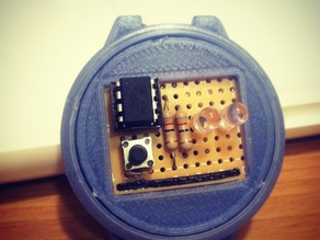 3D Printed Binary Watch