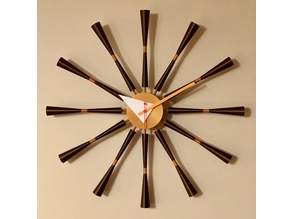 George Nelson Spindle Clock Re-Creation