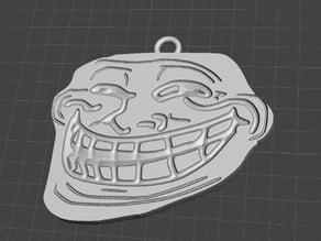 Trollface pendant