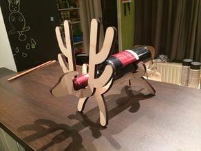 Reindeer wine stand