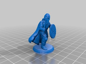Barbarian Warrior - Hand Ax - Type 2