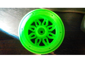 RC rock crawler bead lock rims
