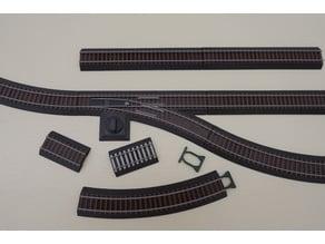 9mm scale N tracks